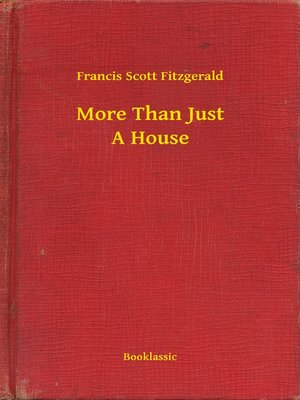 cover image of More Than Just A House