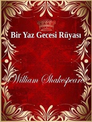 cover image of Bir Yaz Gecesi Rüyası
