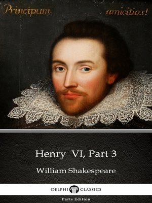 cover image of Henry VI, Part 3 by William Shakespeare