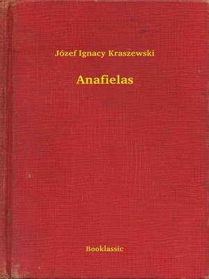 cover image of Anafielas