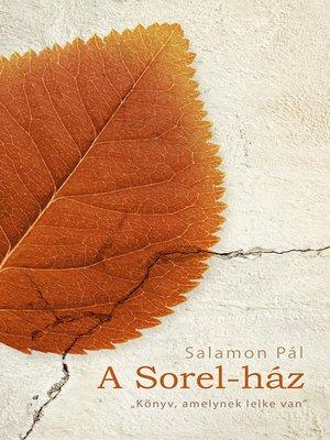 cover image of A Sorel-ház