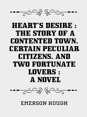 cover image of Heart's Desire
