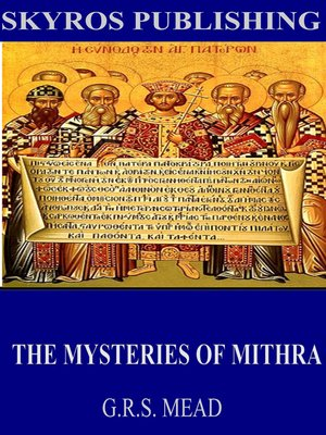 cover image of The Mysteries of Mithra