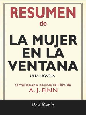 cover image of Resumen de La mujer En La ventana