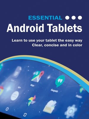cover image of Essential Android Tablets