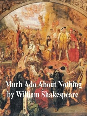 cover image of Much Ado About Nothing, with line numbers