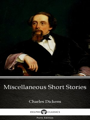 cover image of Miscellaneous Short Stories by Charles Dickens