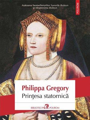 cover image of Prințesa statornică