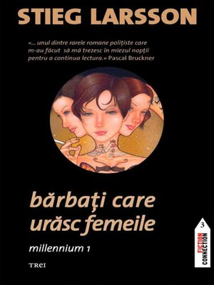 cover image of Bărbați care urăsc femeile. Millennium 1