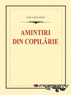 cover image of Amintiri din copilărie