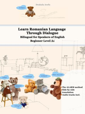 cover image of Learn Romanian Language Through Dialogue