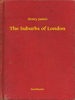 cover image of The Suburbs of London