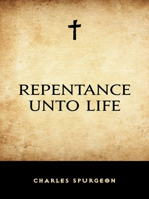 cover image of Repentance Unto Life