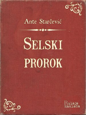cover image of Selski prorok
