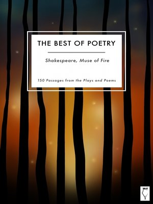 cover image of The Best of Poetry — Shakespeare Muse of Fire