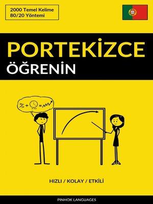 cover image of Portekizce Öğrenin - Hızlı / Kolay / Etkili