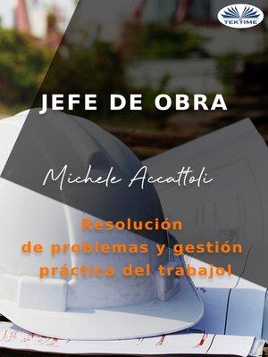 cover image of Jefe De Obra