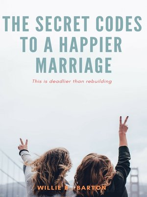 cover image of Secret Codes to a Happier Marriage