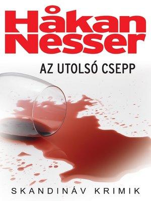 cover image of Az utolsó csepp