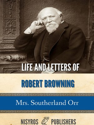 cover image of Life and Letters of Robert Browning