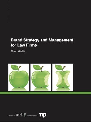 cover image of Brand Strategy and Management for Law Firms
