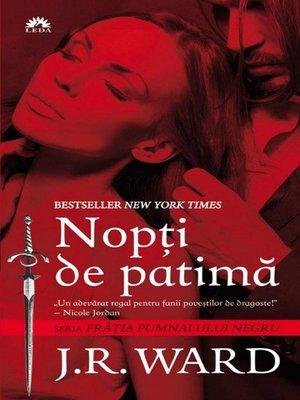 cover image of Frăția pumnalului negru--Volume I--Nopți de patimă