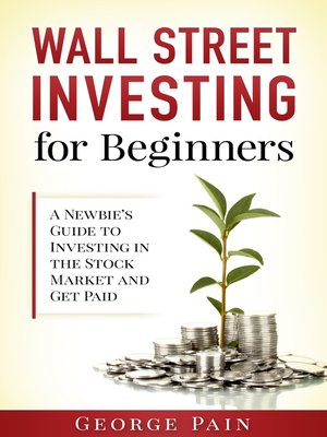 cover image of Wall Street Investing and Finance for Beginners