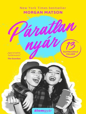 cover image of Páratlan nyár
