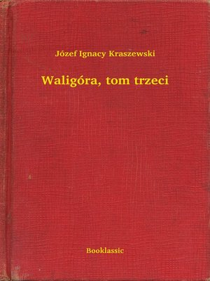 cover image of Waligóra, tom trzeci