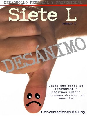 cover image of Desánimo