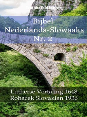 cover image of Bijbel Nederlands-Slowaaks Nr. 2