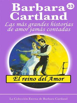 cover image of El Reino del Amor