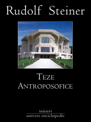 cover image of Teze antroposofice