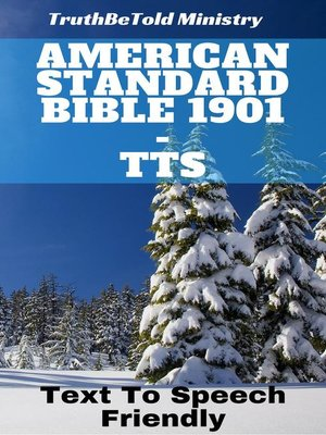 cover image of American Standard Bible 1901 - TTS