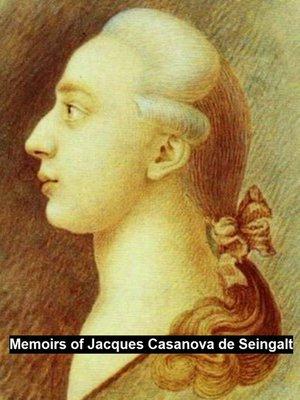 cover image of Memoirs of Jacques Casanova de Seingalt