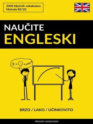 cover image of Naučite Engleski--Brzo / Lako / Učinkovito