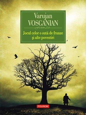 cover image of Jocul celor o sută de frunze și alte povestiri
