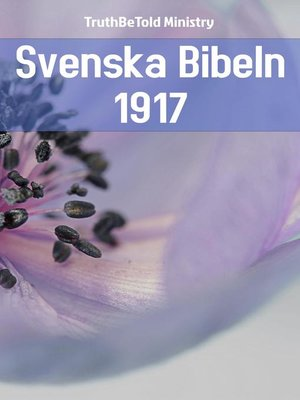 cover image of Svenska Bibeln 1917