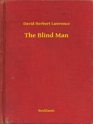 cover image of The Blind Man