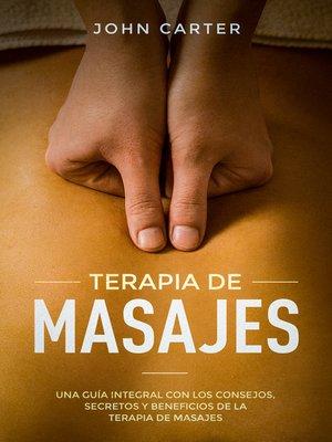 cover image of Terapia De Masajes