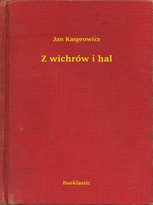 cover image of Z wichrów i hal
