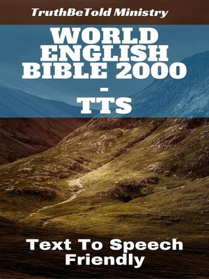cover image of World English Bible 2000--TTS