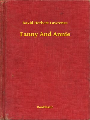 cover image of Fanny And Annie