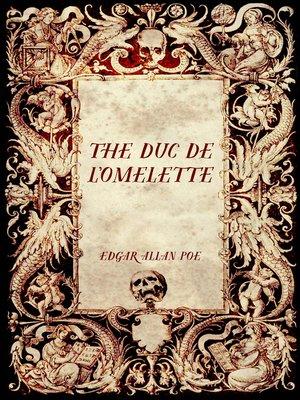 cover image of The Duc De L'Omelette