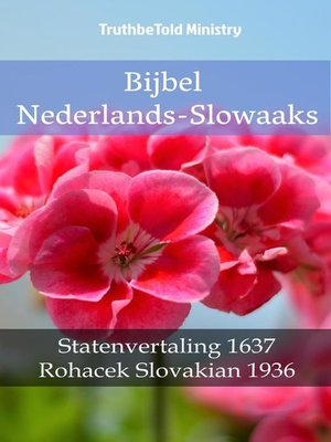 cover image of Bijbel Nederlands-Slowaaks