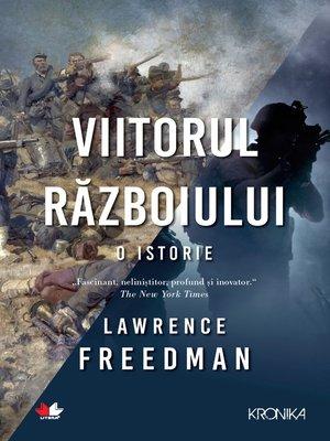 cover image of Viitorul razboiului