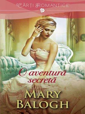 cover image of O aventură secretă. Seria Huxtable