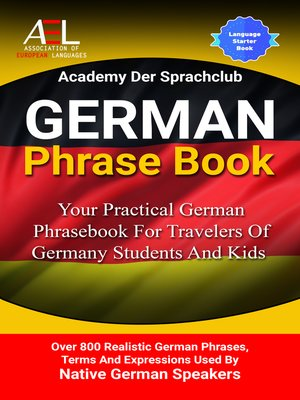 cover image of German Phrase Book