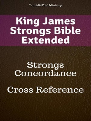cover image of King James Strongs Bible Extended