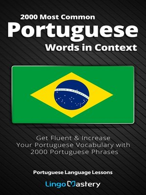 cover image of 2000 Most Common Portuguese Words in Context